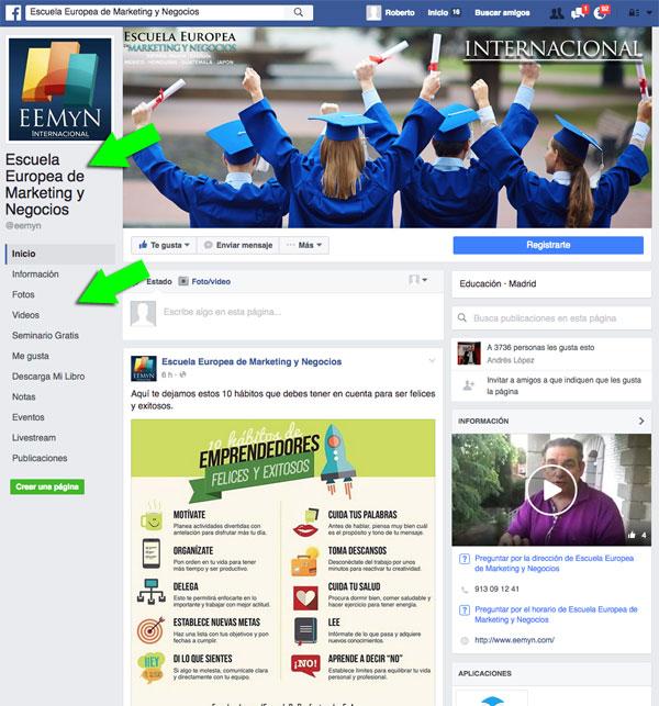 FacebookCambiaLayoutDeLasPaginasDeFans